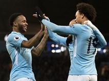 Sterling ghi bàn sau 39 giây, Man City lại hơn Man Utd 15 điểm