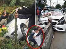 Những tai nạn hy hữu với xe dâu: Gặp nạn nhưng cô dâu chú rể phải ăn mừng vì thoát chết