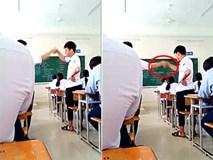 Học trò bị phạt đứng bắt tay suốt buổi vì cãi nhau trong giờ học