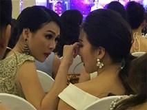 Đây chính là khoảnh khắc đẹp và ngọt ngào nhất Hoa hậu Hoàn vũ Việt Nam 2017