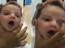 Hình ảnh gây phẫn nộ: Nữ y tá vặn bóp, đè lún đầu trẻ sơ sinh trong bệnh viện