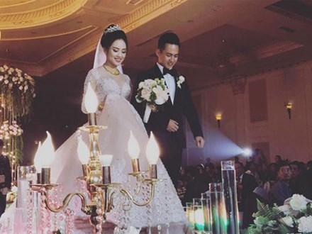 Top 10 Hoa hậu Việt Nam 2016 Trần Tố Như và hotboy cảnh sát 'khóa môi' say đắm trong ngày cưới