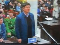 Video: Ông Đinh La Thăng, Trịnh Xuân Thanh... tại bục khai báo của bị cáo