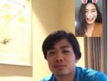 Cô gái trẻ gây xôn xao khi tung ảnh Facetime với Công Phượng