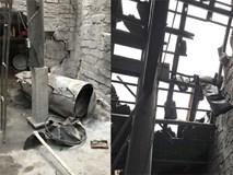 Nổ nồi hơi ép đậu phụ tốc cả mái nhà lúc rạng sáng, 2 vợ chồng bị thương nặng