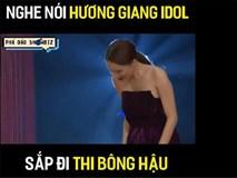 """Vừa mới công khai thi Hoa hậu, Hương Giang idol bị đào mộ quá khứ catwalk ngã """"sấp mặt""""!"""