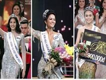 Xuất thân nghèo khổ đến khó tin của 3 mỹ nhân đoạt ngôi cao nhất Hoa hậu Hoàn Vũ Việt Nam 2017