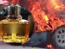 Cháy nổ xe máy, ô tô vì để nước hoa trong xe
