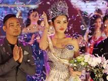 Đề nghị thu hồi vương miện Hoa hậu Đại dương Lê Âu Ngân Anh