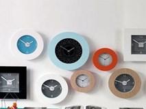 """Treo đồng hồ hợp phong thủy trong nhà: Muốn gặp may, không thể """"đẹp đâu treo đấy"""""""