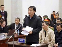 Ông Đinh La Thăng nghẹn ngào nói lời cay đắng, Trịnh Xuân Thanh bật khóc tại tòa