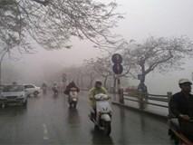 Dự báo thời tiết 14/1: Miền Bắc mưa rét kèm sương mù