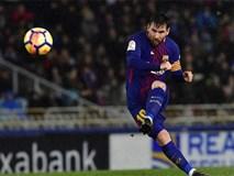 Messi lập tuyệt phẩm sút phạt, Barca nới cách biệt với Real lên... 19 điểm