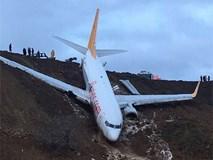 """Máy bay lao thẳng xuống biển sau khi hạ cánh, 168 người sống sót an toàn, tránh được """"thảm kịch hàng không"""""""