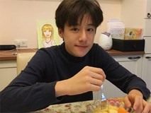 'Tiểu soái ca' 13 tuổi đã cao 1,70 m, học giỏi, đàn hay