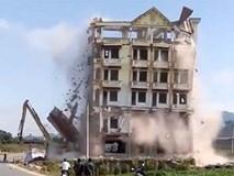 Mộc Châu đánh sập tòa nhà 7 tầng Tàng KeangNam