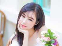 Elly Trần khoe nhan sắc xinh đẹp như 'công chúa' khi diện đầm trắng