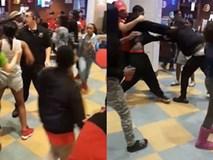 Mất một chiếc điện thoại, 20 người xông vào đánh nhau ngay giữa nhà hàng