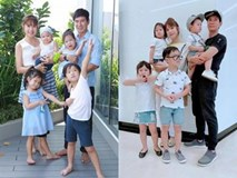 Chụp ảnh gia đình đẹp đến từng thành viên, không ai qua được Lý Hải Minh Hà