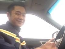 Dân mạng ráo riết truy lùng danh tính chàng Cảnh sát chỉ vì một đoạn clip
