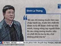 Những phát ngôn tự bào chữa của ông Đinh La Thăng tại tòa