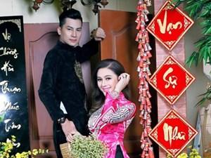 Lâm Khánh Chi duyên dáng bên chồng trong bộ ảnh xuân 2018