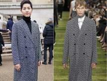 Song Joong Ki lại khiến người ta trầm trồ vì diện đồ còn đẹp hơn người mẫu tại show Dior