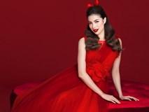 Diện váy đỏ nổi bần bật, Phạm Hương đầy gợi cảm và quyến rũ hơn bao giờ hết