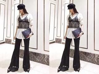 Lan Khuê chọn nhầm áo lót khi diện phong cách 'nội y ngoài trang phục'
