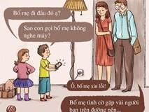 Chuyện gì sẽ xảy ra nếu một ngày bố mẹ và con cái hoán đổi vị trí cho nhau?