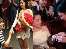 Showbiz Việt và những màn cầu hôn đáng ngưỡng mộ