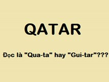 Hầu hết người Việt Nam đều gọi sai tên đội tuyển U23 Qatar thành