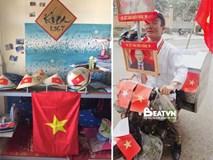 Nhìn những hình ảnh này mới thấy không khí sục sôi trước trận bán kết U23 Việt Nam - U23 Qatar đã len lỏi đến từng ngõ phố, ngôi nhà