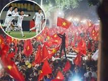 U23 VN chiến thắng đầy kịch tính, người dân cả nước ngất ngây ra đường ăn mừng