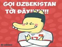 Dân mạng Việt: 'Mời U23 Uzbekistan tới đây'