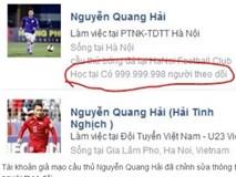 200 tài khoản Facebook giả mạo cầu thủ và HLV U23 Việt Nam