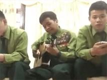 Mượn âm nhạc, ba chú bộ đội gửi lời cảm ơn đến các anh hùng U23 Việt Nam