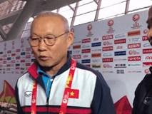 HLV Park Hang Seo: 'Các cầu thủ U23 Việt Nam đã dùng tinh thần để khắc phục thể lực'