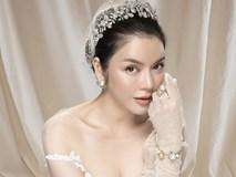 Lý Nhã Kỳ làm cô dâu lộng lẫy với trang sức kim cương