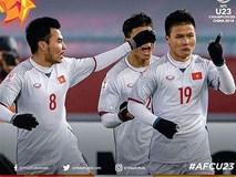 Những giây phút nghẹn ngào sẽ còn được nhớ mãi của các cầu thủ U23 Việt Nam