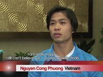 Công Phượng tự tin với tình hình sức khỏe của U23 Việt Nam trước trận chung kết