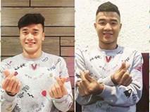 Các nàng ơi, đã tậu áo đôi Tiến Dũng - Đức Chinh U23 để cổ vũ đội nhà chưa?