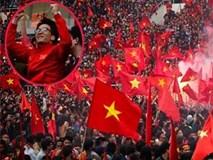 Phó Thủ tướng Vũ Đức Đam cùng hàng triệu người hâm mộ hô vang Park Hang-seo và U23 Việt Nam