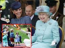 Nữ hoàng Elizabeth và cháu dâu Kate: Nuôi dạy con vô cùng khác biệt nhưng ai cũng phải kính nể
