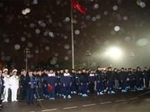 Đội tuyển U23 hát quốc ca, báo công trước Lăng Chủ tịch Hồ Chí Minh