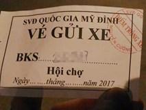 Vé gửi xe ở sân Mỹ Đình đắt 'cắt cổ' trong đêm Gala vinh danh đôi tuyển U23 Việt Nam