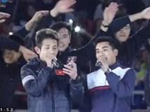 Hồng Duy và các tuyển thủ U23 hát vang 'Niềm tin chiến thắng'
