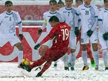 Những khoảnh khắc đáng nhớ của U23 Việt Nam tại AFC U23 2018