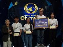 10X mang theo ngôi sao xanh hy vọng đoạt giải nhất tuần Olympia