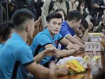 Cận cảnh dàn cầu thủ cực phẩm U23 Việt Nam trong họp báo mừng công